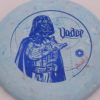 Star Wars - Discraft - challenger - swirly - jawbreaker - blue-fracture - 304 - 173-175g - 173-5g - super-flat - neutral