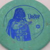 Star Wars - Discraft - zone - swirly - jawbreaker - blue-fracture - 304 - 173-175g - 173-6g - super-flat - neutral