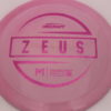 Zeus - Paul McBeth - pink-mini-dots-and-stars - 170-172g - 171-4g - somewhat-domey - neutral
