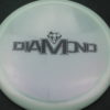 Diamond - Opto Glimmer - white - black - 157g - 157-8g - somewhat-domey - neutral