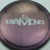 Diamond - Opto Glimmer - blend-purple-grey - silver - 156g - 157-5g - somewhat-domey - neutral