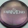 Diamond - Opto Glimmer - blend-purple-grey - silver - 157g - 158-3g - somewhat-domey - neutral