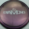 Diamond - Opto Glimmer - blend-purple-grey - silver - 156g - 157-6g - somewhat-domey - neutral