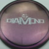 Diamond - Opto Glimmer - blend-purple-grey - silver - 157g - 157-8g - somewhat-domey - neutral