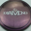 Diamond - Opto Glimmer - blend-purple-grey - silver - 157g - 158-4g - somewhat-domey - neutral