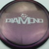 Diamond - Opto Glimmer - blend-purple-grey - silver - 158g - 158-8g - somewhat-domey - neutral