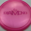 Diamond - Opto Glimmer - pink - fuchsia - 156g - 157-2g - somewhat-domey - neutral