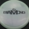 Diamond - Opto Glimmer - white - black - 157g - 158-0g - somewhat-domey - neutral