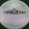 Diamond - Opto Glimmer - white - black - 156g - 157-8g - somewhat-domey - neutral