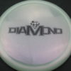 Diamond - Opto Glimmer - white - black - 156g - 157-7g - somewhat-domey - neutral