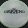 Diamond - Opto Glimmer - white - black - 156g - 157-5g - somewhat-domey - neutral