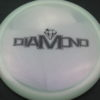 Diamond - Opto Glimmer - white - black - 157g - 157-9g - somewhat-domey - neutral