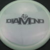 Diamond - Opto Glimmer - white - black - 157g - 157-7g - somewhat-domey - neutral