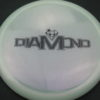 Diamond - Opto Glimmer - white - black - 156g - 157-2g - somewhat-domey - neutral