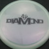 Diamond - Opto Glimmer - white - black - 157g - 157-6g - somewhat-domey - neutral