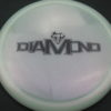 Diamond - Opto Glimmer - white - black - 156g - 157-4g - somewhat-domey - neutral