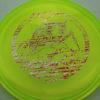 Roach - CryZtal Z - yellowgreen - silverredgold-streaks - 170-172g - 173-7g - pretty-flat - somewhat-stiff