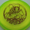 Roach - CryZtal Z - yellowgreen - dark-red - 173-175g - 173-9g - pretty-flat - somewhat-stiff