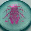Roach - CryZtal Sparkle - blue - fuchsia - 173-175g - 173-4g - pretty-flat - somewhat-stiff