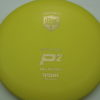 P2 - Soft P-Line - Special Edition - yellow - soft-p-line - gold-shatter-dots - 175g - 172-8g - super-flat - somewhat-gummy