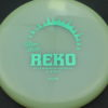 Reko - glow - k1-glow - teal-dots-small - 176g - 177-7g - somewhat-puddle-top - neutral