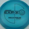 EXP-X - blue - quantum - black - 175g - 172-4g - pretty-domey - somewhat-stiff