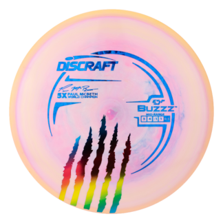 Discraft 5x McBeth Buzzz with limited stamp.