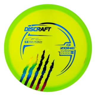 Discraft 5x McBeth Zone with the new signature series claw stamp.