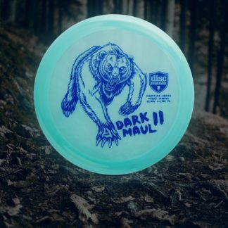 Discmania Color Glow PD, tour series Dark Maul II for Avery Jenkins tour.
