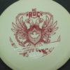 Hendel Roc - KC Pro Glow - dark-red - white - 180g - 177-4g - somewhat-domey - very-stiff