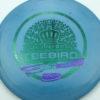 Nybo TeeBird - Splatter Star 13x - green - purple-dots-mini - 175g - 174-4g - pretty-domey - somewhat-stiff