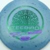 Nybo TeeBird - Splatter Star 13x - green - purple-dots-mini - 175g - 175-4g - pretty-domey - somewhat-stiff