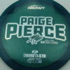 Paige Pierce Undertaker - Z Line - 5x Signature Series - blue-green - silver-circles - ghost - 173g - 173-8g - somewhat-domey - somewhat-stiff