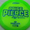 Paige Pierce Undertaker - Z Line - 5x Signature Series - green - blue-pebbles - ghost - 170-172g - 171-8g - pretty-domey - somewhat-stiff