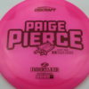 Paige Pierce Undertaker - Z Line - 5x Signature Series - pink - dark-red - ghost - 170-172g - 173-1g - somewhat-domey - somewhat-stiff