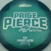 Paige Pierce Undertaker - Z Line - 5x Signature Series - blue-green - silver-circles - ghost - 174g - 174-4g - somewhat-domey - somewhat-stiff