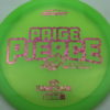 Paige Pierce Undertaker - Z Line - 5x Signature Series - light-green - pink-hearts - ghost - 174g - 174-7g - somewhat-domey - somewhat-stiff