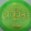 Paige Pierce Undertaker - Z Line - 5x Signature Series - green - gold-hearts - ghost - 174g - 174-5g - somewhat-domey - somewhat-stiff