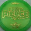Paige Pierce Undertaker - Z Line - 5x Signature Series - green - gold-hearts - ghost - 174g - 174-7g - pretty-domey - somewhat-stiff