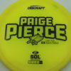Paige Pierce Sol - Z Line - 5x Signature Series - yellow - black - ghost - 173-175g - 175-2g - pretty-domey - somewhat-stiff