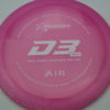 D3 Max - pink - air - white - 154g - 154-9g - somewhat-flat - somewhat-gummy