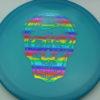 Flat Top Gator - Champion - blue - champion - rainbow - 175g - 176-2g - somewhat-flat - somewhat-stiff