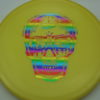 Flat Top Gator - Champion - yellow - champion - rainbow - 175g - 178-1g - pretty-flat - somewhat-stiff