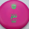 P2 - Soft P-Line - Special Edition - pink - soft-p-line - green-fracture - 175g - 172-1g - super-flat - somewhat-gummy