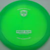FD2 - 3rd Tooling - green - c-line - silver - 175g - 175-1g - somewhat-flat - somewhat-stiff