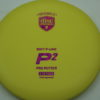 P2 - Soft P-Line - Special Edition - yellow - soft-p-line - fuchsia-fracture - 175g - 173-7g - super-flat - somewhat-gummy