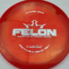 Felon - redorange - lucid - silver - 304 - 173g - 174-7g - pretty-flat - somewhat-stiff