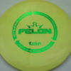Felon - light-yellow - biofuzion - green - 304 - 174g - 175-0g - pretty-flat - somewhat-stiff