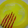 Force - Paul McBeth - 5x Signature Series Claw - yellow - silver - red-fracture - 173-175g - 176-0g - pretty-domey - somewhat-stiff