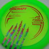 Force - Paul McBeth - 5x Signature Series Claw - green - red - acid-party-time - 170-172g - 173-1g - pretty-domey - somewhat-stiff